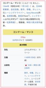 近藤真彦、Wikipedia