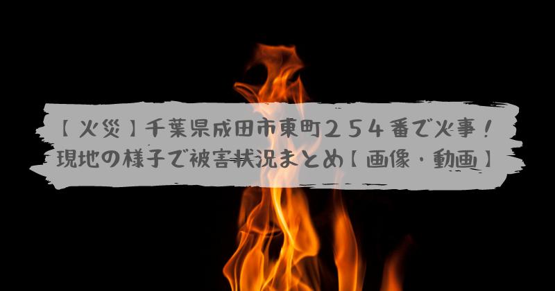 市 火災 成田